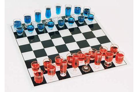 шахматы со стопками