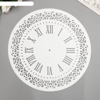 Трафарет часы  d-25 см