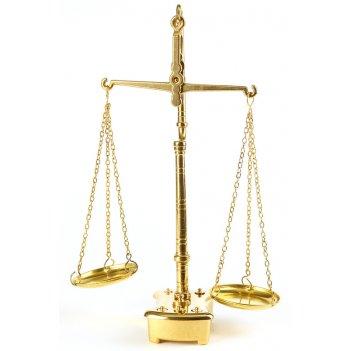 Весы с чашами 35 х 22 см