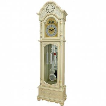 Механические напольные часы  cl-9151 ps-ivory silver