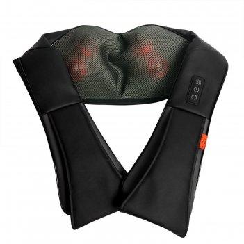 Массажная подушка для шеи и плеч gess-012 kragen, 24 вт, 2 программы
