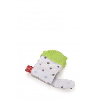 Прорезыватель-рукавичка green