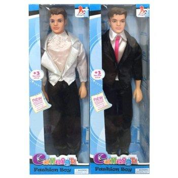 Кукла calleigh 29см юноша в костюме  в ас-те.