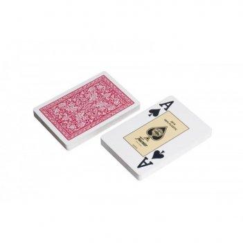 Карты для покера fouriner 100% пластик, испания