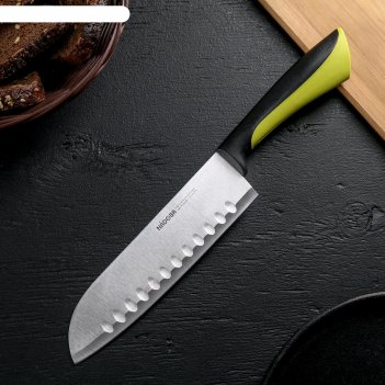 Нож сантоку nadoba, лезвие 17,5 см, серия jana