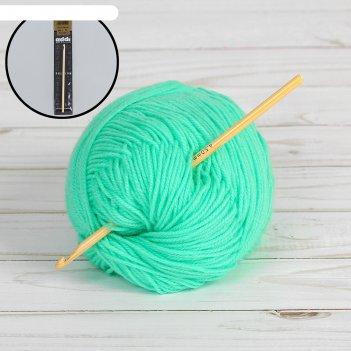 Крючок для вязания, бамбук, №4,5, 15см