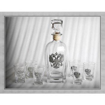Набор для водки 307 «держава» арт. ншт41307др-16