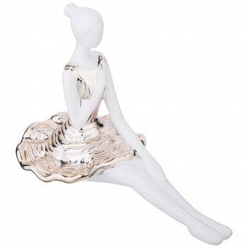 Статуэтка балерина золотая коллекция  26*13 см высота=18 см (кор=12 шт.)