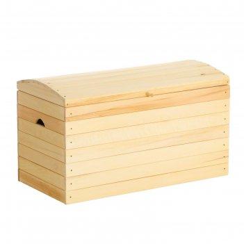 Ящик для белья сундук 100х57х53 см добропаровъ