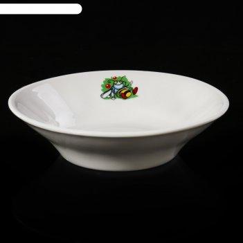 Блюдце для варенья «лесовичок», 110 мл, d=11 см, рисунок микс
