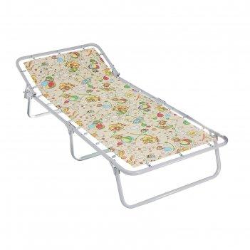 Кровать раскладная детская дрема-м3, рисунок микс