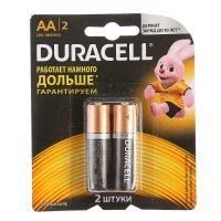 Батарейки аа duracell mn1500, (набор 2 шт.)