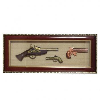 Панно оружие, 69х29 см