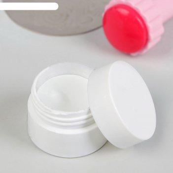 Гель для стемпинга, трёхфазный, led/uv, 5 гр, цвет белый