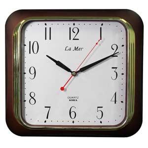 Настенные часы la mer gd114 brn