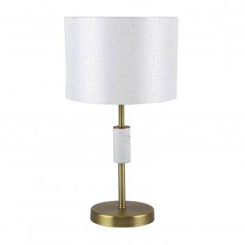 Настольная лампа marbella, 1x40вт e14, цвет латунь
