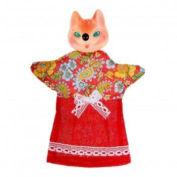Кукла-перчатка лиса