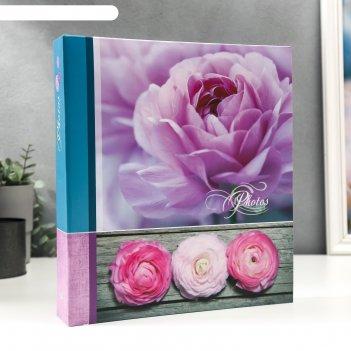 Фотоальбом магнитный 50 листов цветы