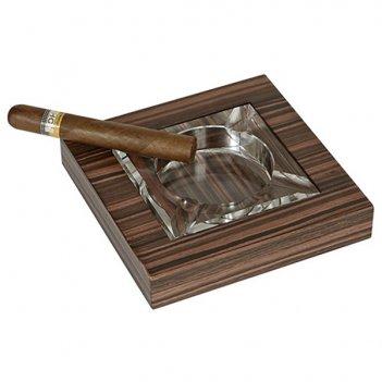 Пепельница для сигар artwood macassar, арт. aw-04-11