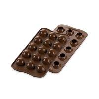 Форма для приготовления шоколадных конфет tartufino, размер: 24 х 11 см, м