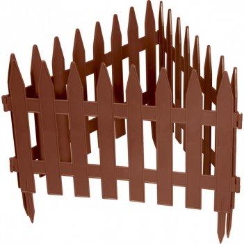 Забор декоративный рейка 28 x 300 см, терракот россия palisad
