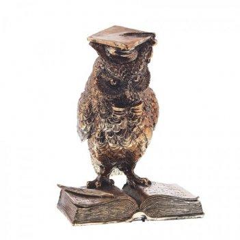 Фигурка декоративная сова, l13 w8 h15 см
