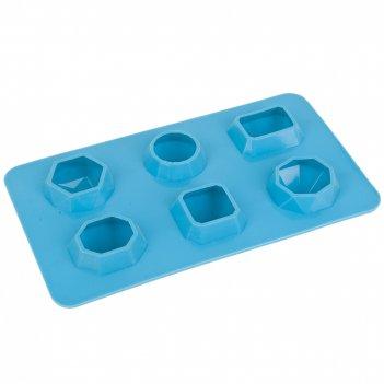 Форма для льда и шоколада 19*10,5*3см. (силикон) (подарочная упаковка)