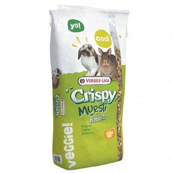 Корм versele-laga crispy muesli rabbits для кроликов, 20 кг