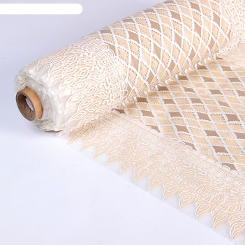 Клеенка ажурная lace, ширина 50 см ромбы, рулон 20 м