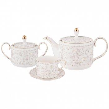 Чайный сервиз lefard emily 14 пр. на 6 пер. (кор=4наб.)