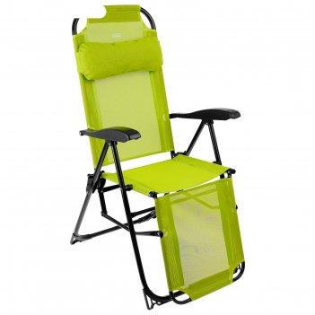 Кресло-шезлонг, размер 780x590x1160 мм (к3/л лимонный)