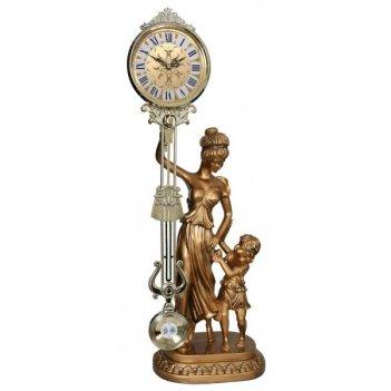Скульптурные часы из полимерных смол восток 8304-3