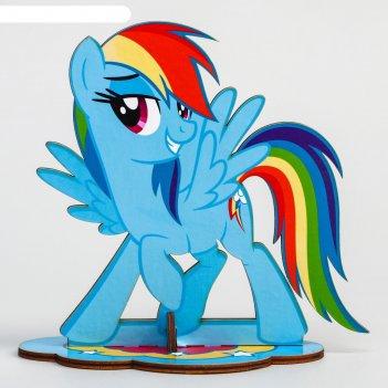 Органайзер для резинок и бижутерии пони радуга деш, my little pony