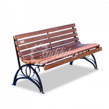 Садово-парковая скамейка «флора» 1,5 м