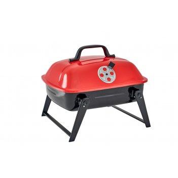 Компактный переносной угольный гриль-барбекю picnic 36