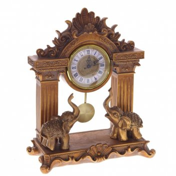 Часы настольные декоративные, l27,5 w12 h35,5 см, (1хаа не прилаг.)