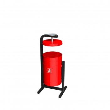 Урна «жемчужина» 16л (красная)