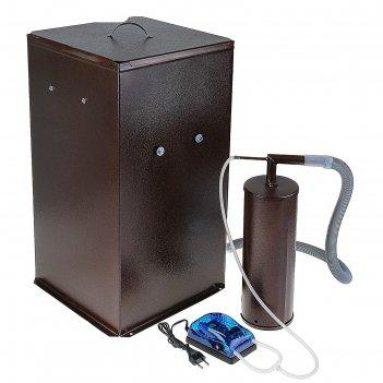 Коптильня холодного копчения дым дымыч 01б, дымогенератор, емкость для коп
