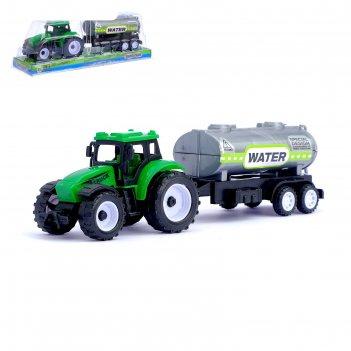 Трактор инерционный сельхозтехника с прицепом