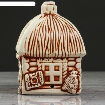 Сувенир дом, лепка, петухи