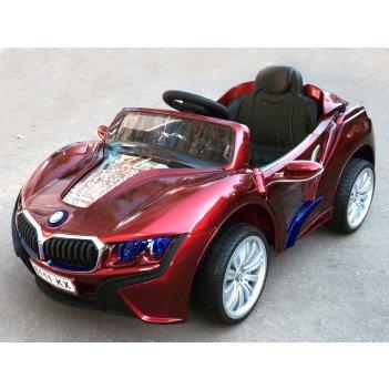Электромобиль bmw i8 е111кх vip вишневый металлик new 2015