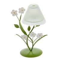 Подсвечник металл 1 свеча цветочный торшер 20,5х9,5х12,5 см