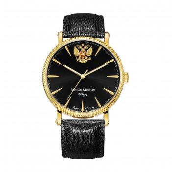 Часы наручные мужские михаил москвин, кварцевые, модель 1128a2l4