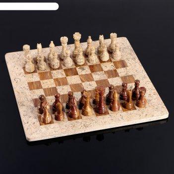 Шахматы «элит»,  доска 40х40 см, оникс, вид 3