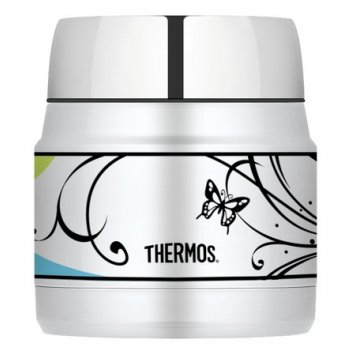 Термос с широким горлом thermos heritage butterfly h3000a6bf, 290 ml