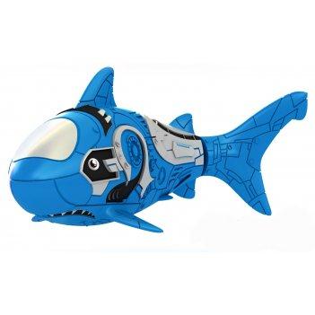 Роборыбка акула (голубая) лицензионное изделие от robofish zuru