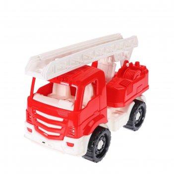 Машинка пожарная илья красная 22 см и-2641