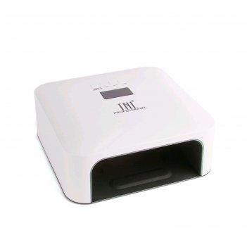 Лампа для гель-лака tnl paradise, uv/led, 60 вт, таймер 30/60/99 с, белая