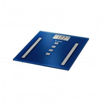 Весы напольные bosch ppw3320, электронные, до 180 кг, синие