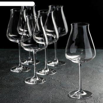 Набор бокалов для вина 700 мл burgundy glass, 6 шт